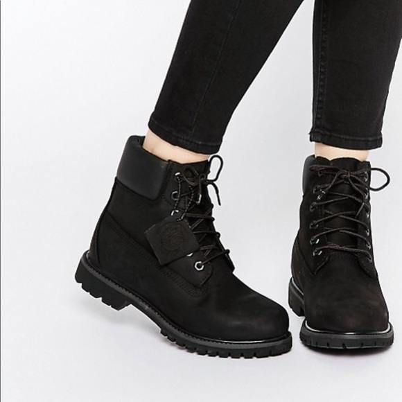 timberland black boots womens|off 65